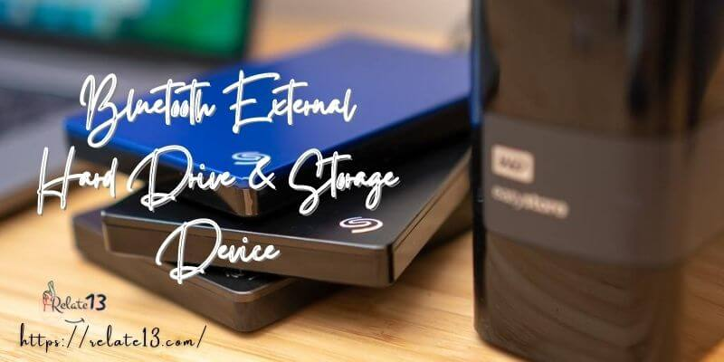 Bluetooth External Hard Drive & Storage Device