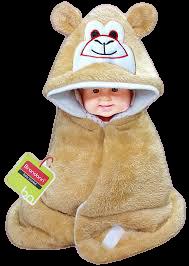 Smiley Hooded Blanket