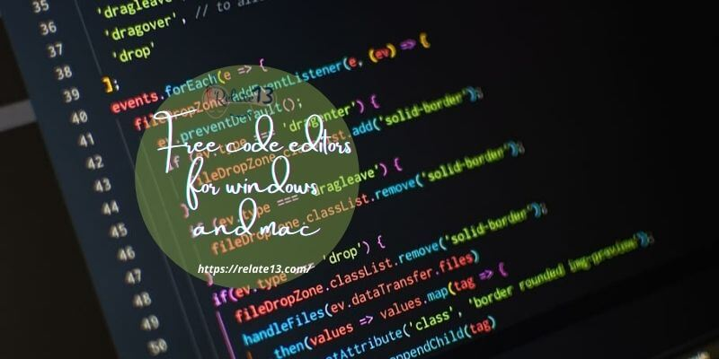 free code editors