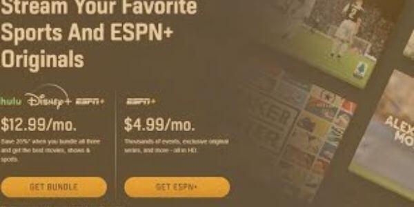 choose an ESPN+ subscription plan