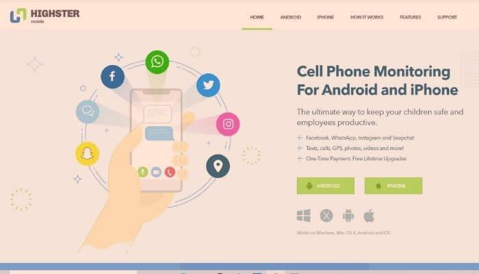 Highster Mobile - Best cellphone monitoring App