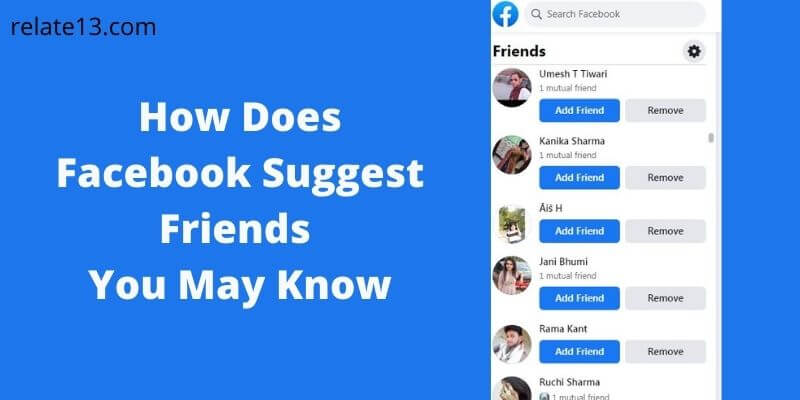 How Does Facebook Suggest Friends