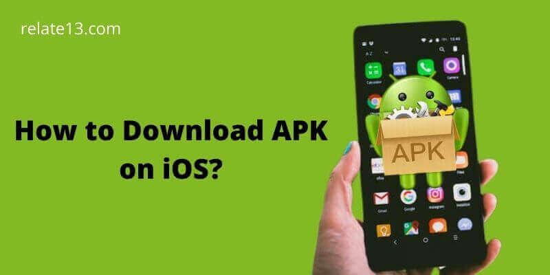 Download APK on iOS