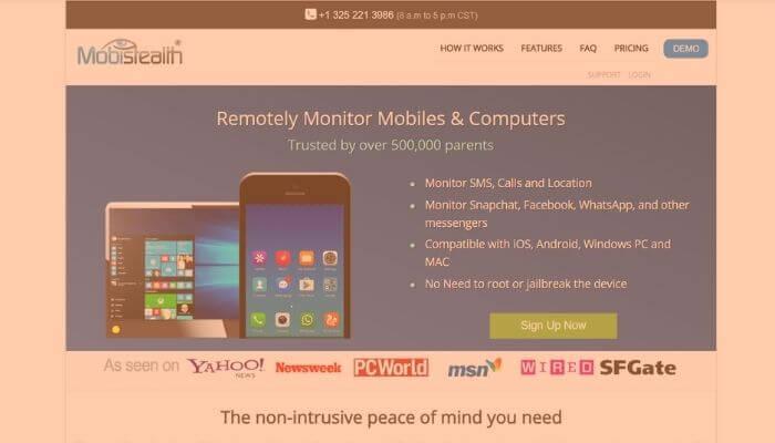 MobiStealth- remotely Spy Phones