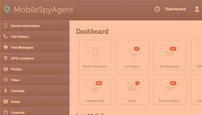 MobileSpyAgent - Phone spy app