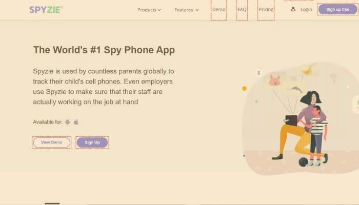 Spyzie - Spy Phone App