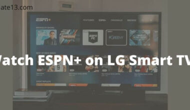 Watch ESPN Plus on LG Smart Tv