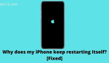 Why does my iPhone keep restarting Itself