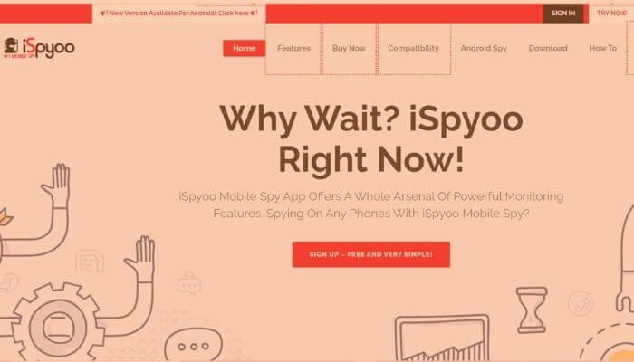 iSpyoo - Best Android Spy App