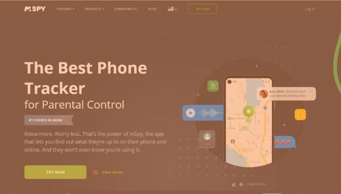 mSpy - Cell phone tracker