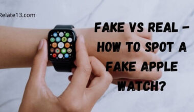 How to spot fake apple watch