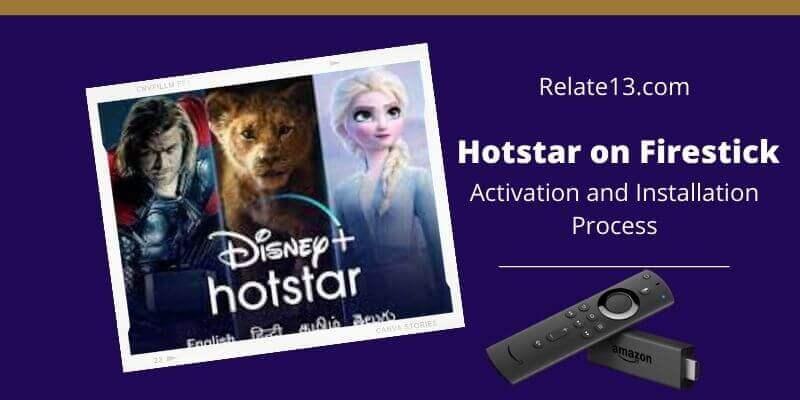 Hotstar on Firestick