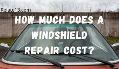 How Much Does A Windshield Repair Cost