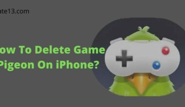 How To Delete Game Pigeon On iPhone