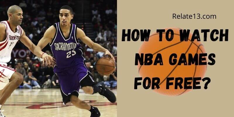 How to watch nba games for free