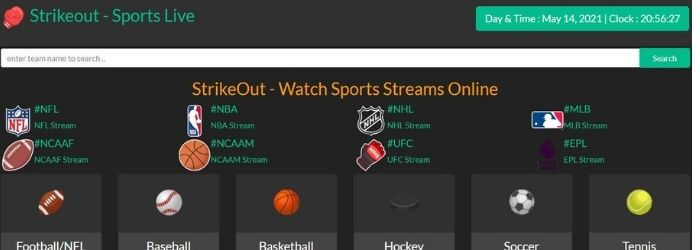 StikeOut - Sport Live