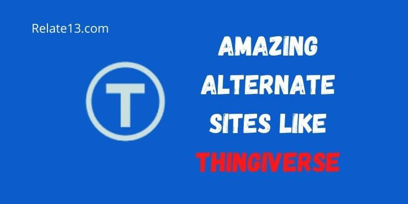 sites like thingiverse