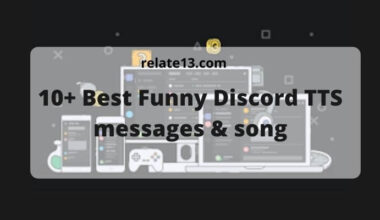 Funny Discord tts messages and songs