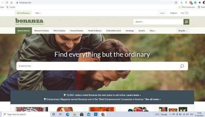 Bonanza - Best site like ebay