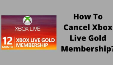 How To Cancel Xbox Live Gold Membership