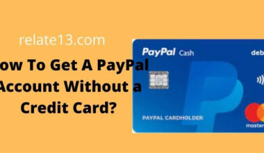 Get A PayPal Account Without a Credit Card