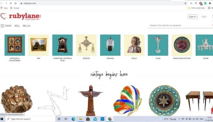 Ruby Lane - Best alternative site of ebay