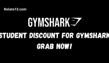 Student Discount For Gymshark