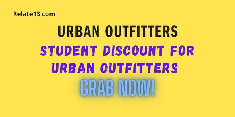 Student Discount For Urban Outfitters