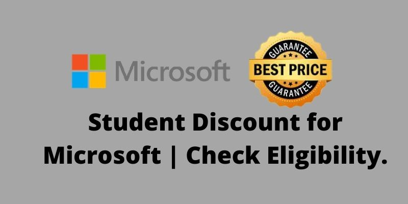 Student Discount for Microsoft
