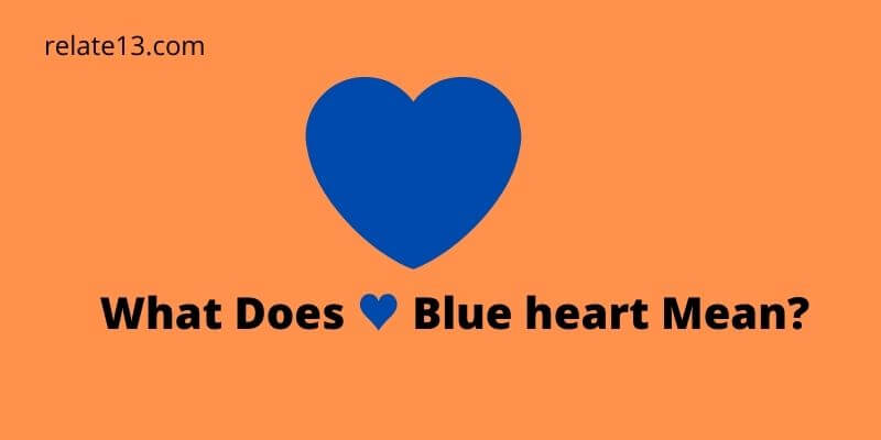 Heart what blue does emoji mean the Heart emojis: