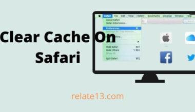 clear cache on safari