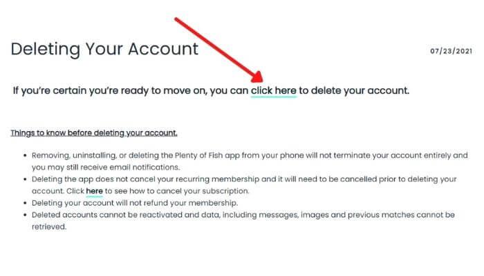 Delete your POF Account-2