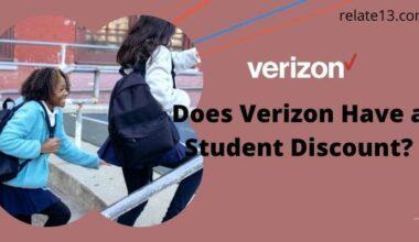 Student Discount on Verizon