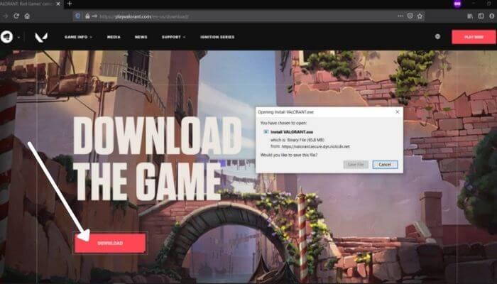 Download Valorant Game
