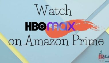 Watch HBO Max on Amazon Prime