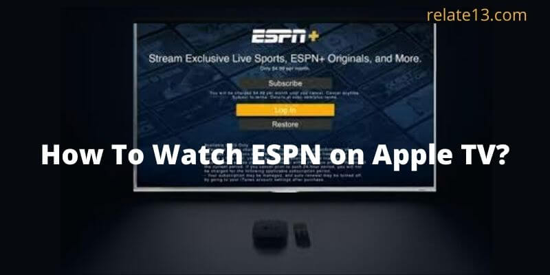 How To Watch ESPN on Apple TV