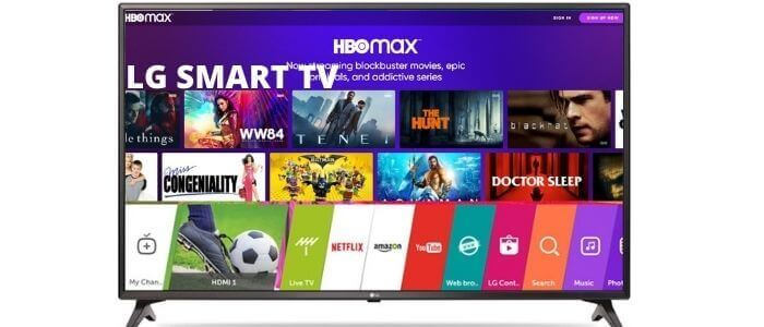 HBO Max on LG TV-1