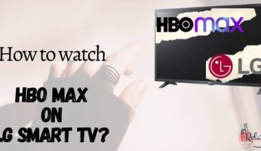 HBO Max on LG Smart TV