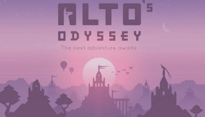 Home Screen Alto's Odyssey (Best Offline Android Games)