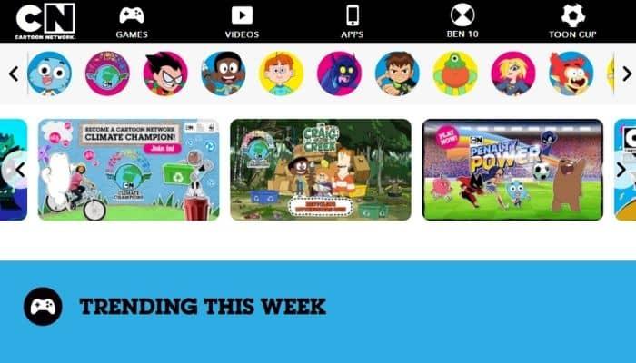 Cartoon Network - Best site to watch free cartoons