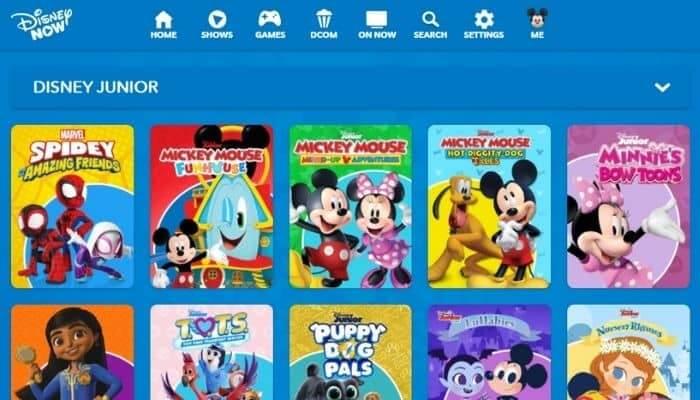 Disney Junior - Watch Online free cartoon