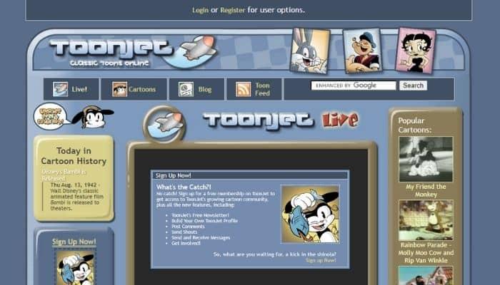 Toonjet - Watch free cartoons