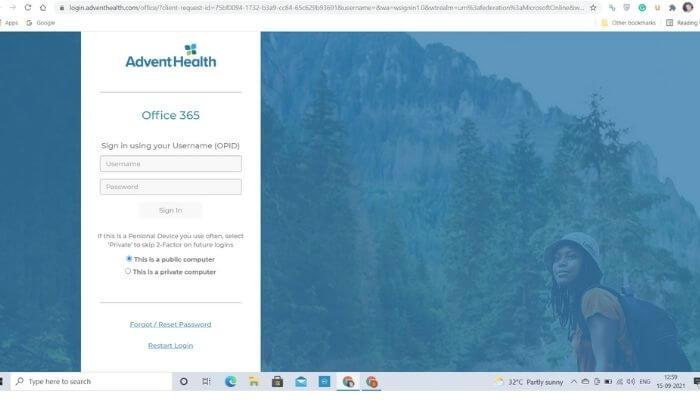 AdventHealth Employee Email login