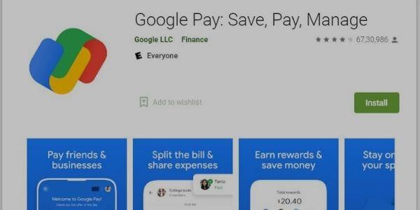 Google Pay - App like cash app