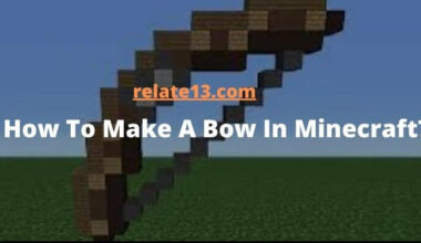 How To Make A Bow In Minecraft