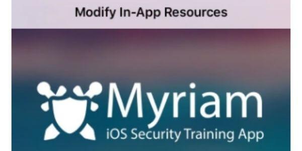 Myriam iOS Security App