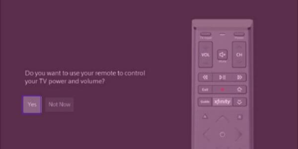 Pair Xfinity Remote Using Voice Commands