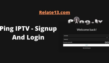 Ping IPTV - Signup And Login