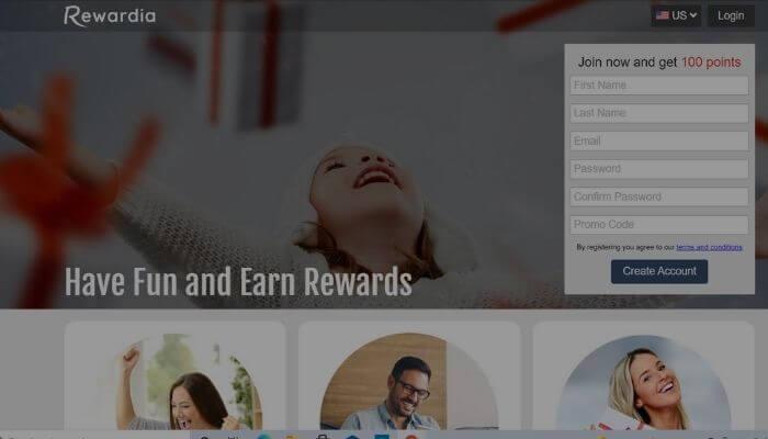 Rewardia App - get paid to play games