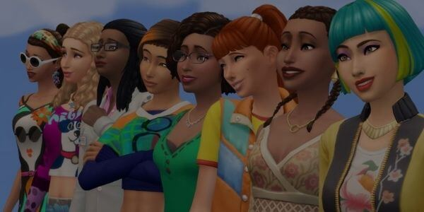 The Sims 4 game for Girls